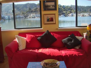 Sausalito house boat photo - Living room