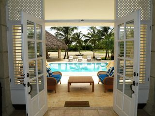 Punta Cana villa photo - Outdoors living area for the evenings and relaxation