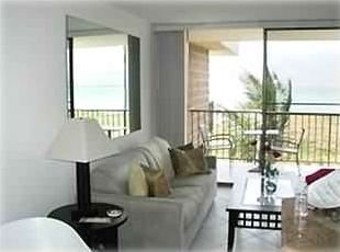 Relax in your living room with ocean view lanai