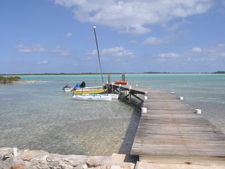 Great Exuma cottage photo - Our boat dock