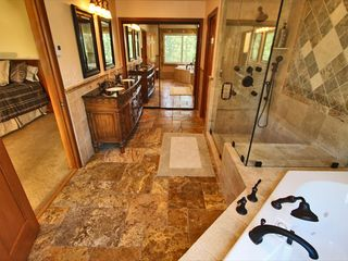 Al Tahoe estate photo - Upstairs Master bath