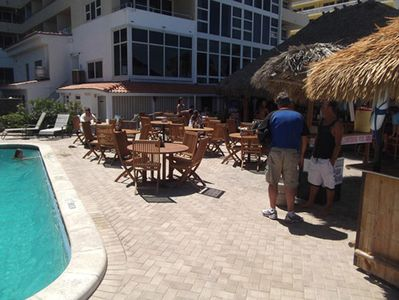 Tiki Bar and Pool