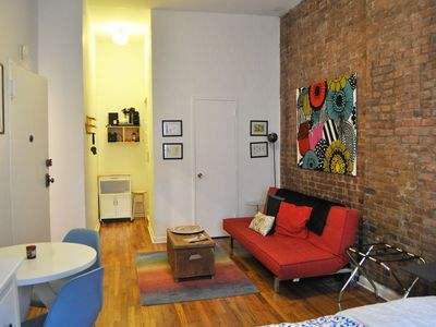 Loft-like Studio in Pre-War Townhouse - East Village (Sleeps 1-3)