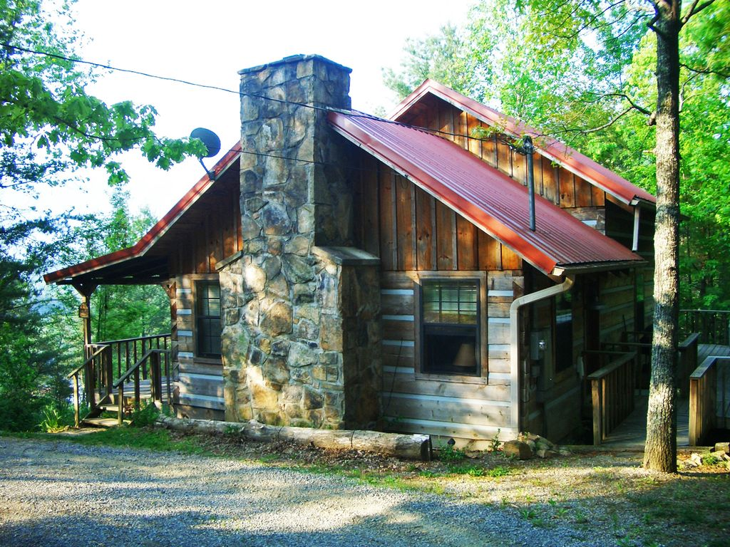 Real Log Cabin With Beautiful Mountain Views Vrbo