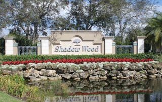 Bonita Springs townhome photo - It does not get any better that exclusive Shadow Woods