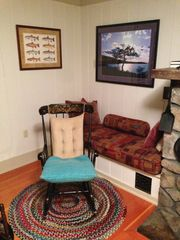 Rocker with trout... - Alton house vacation rental photo