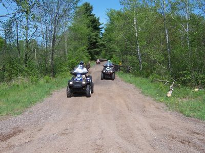 Direct access to the Multi-use Tuscobia State Trail, right from your driveway.