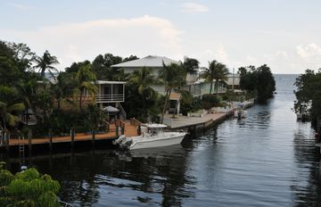 Tavernier house rental - Quick and easy access to the ocean