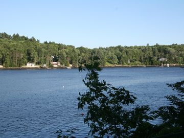 Sheepscot Bay...view from the bedrooms...
