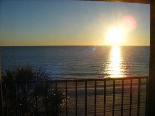 Madeira Beach condo photo - The afternoon sun from our vac condo