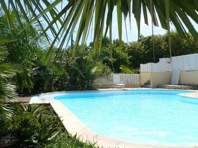 47 m² studio in beautiful villa with large pool in Sud Sauvage