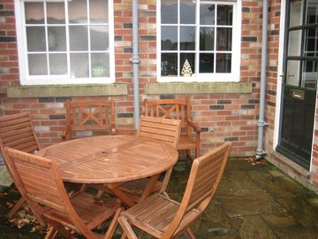 Patio Area for No 2 Croft Farm