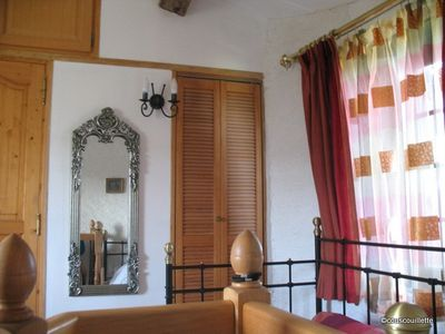 Carcassonne area chateau / country house rental - Upstairs in the Sloping Roof Mill