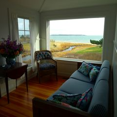 West Yarmouth house photo - This view from the sitting room is gorgeous anytime of year.