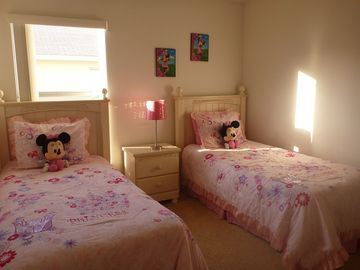 Girls' twin room