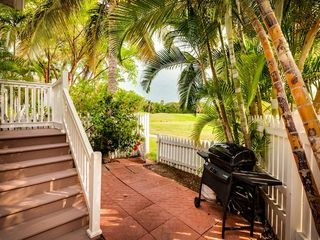 Key West house photo - Great views from the back courtyard.