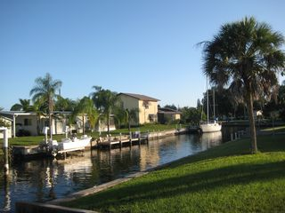 Port Charlotte house photo - A View of the Salt Water Sailboat Canal. Minutes to Charlotte Harbor.