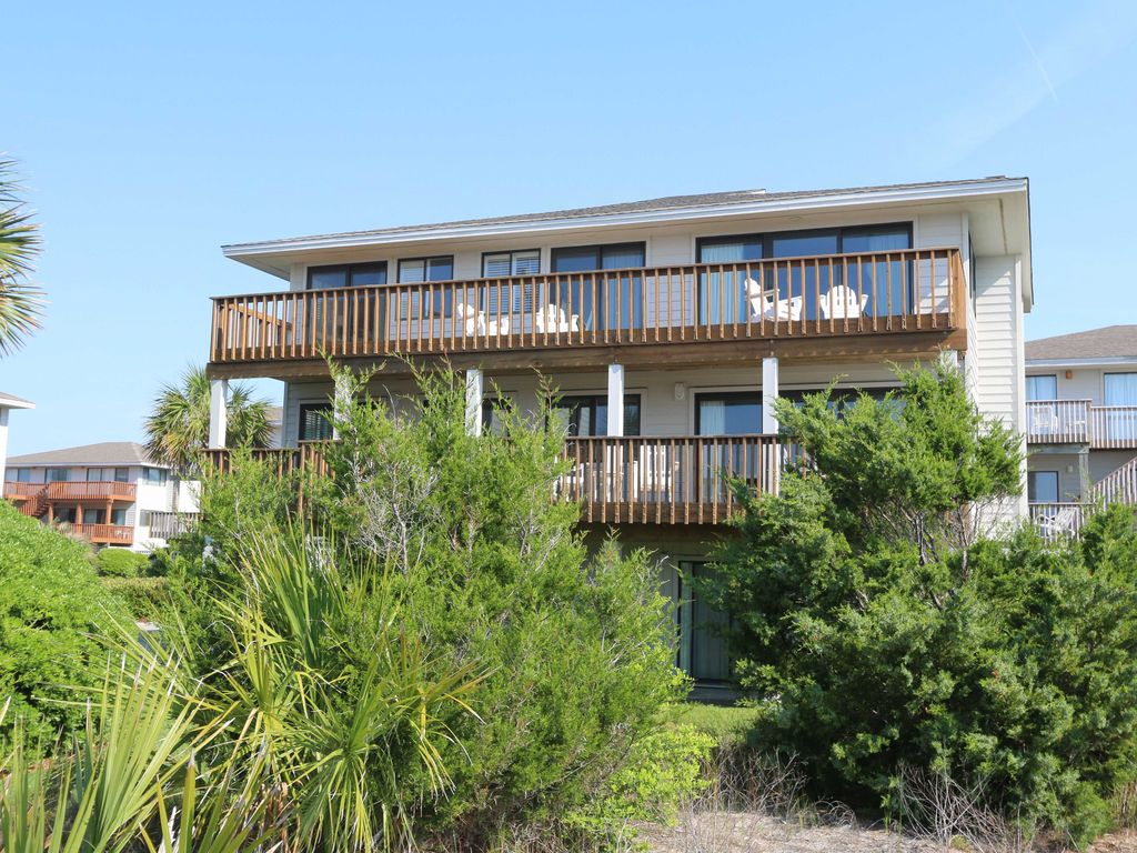 Wrightsville Beach House Rental Sea Oats 4 Bedroom Oceanview Home In Wrigh