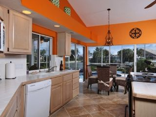 Vacation Homes in Marco Island house photo - Fully loaded kitchen overviewing wide water front