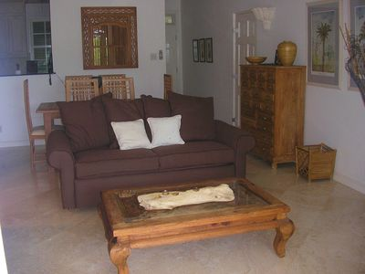 Mullins Beach apartment rental - Spacious living/dininng