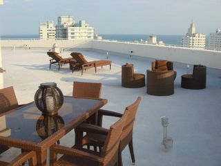 Roof-Patio - South Beach apartment vacation rental photo