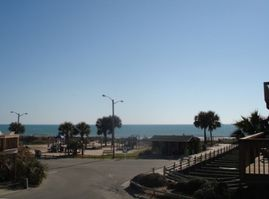 TAKE A LOOK AT THE VIEW! WATCH THE GOLF CARTS & OCEAN WAVES!