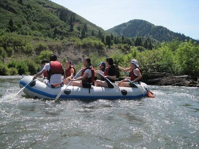 Enjoy a lazy float down the Provo River.