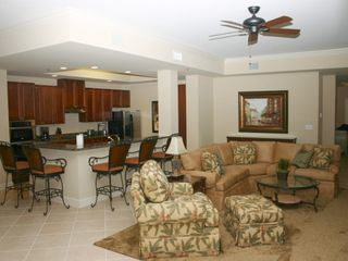 Harbor Landing Destin condo photo - Harbor Landing 203A - Open Living Area View 4