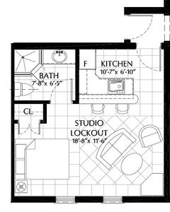 Our floorplan