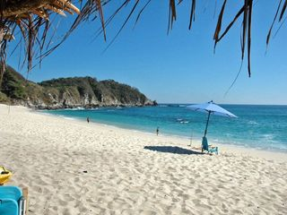Huatulco villa photo - Stroll along the Private White Sand beach