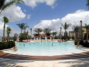 Enjoy the Sun and Palm Trees at the Clubhouse Pool
