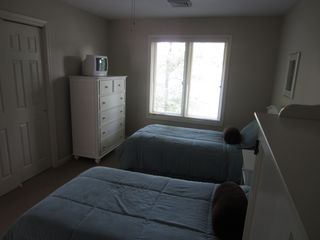 Big Boulder house photo - Upstairs bedroom with twin beds