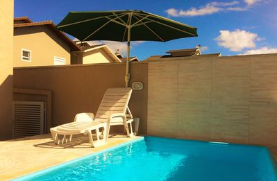NEW HOUSE, 4 QTS, 2 ROOMS, POOL Prive, CHURQ, VGS 5, 20 PEOPLE 70M BEACH