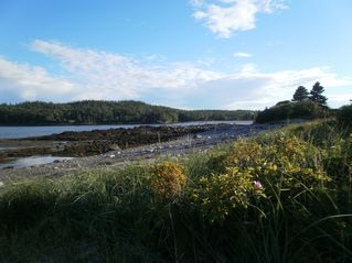Lubec cottage photo - Rocky Beach