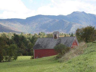 The classic Red Barn - explore the area and see if you can find this one.
