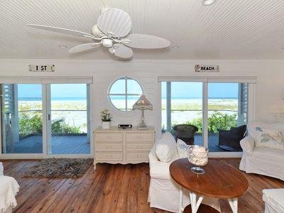 Beautiful, Ocean-Front Home with Golf Cart & Bikes--Halcyon House