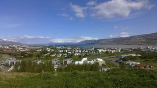 Northeast Iceland apartment photo - The view from the garden in the end of may.