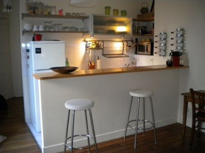 11th Arrondissement Bastille apartment rental - Kitchen