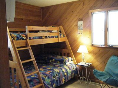 Bunk Bedroom 2 - twin/double w/ twin trundle
