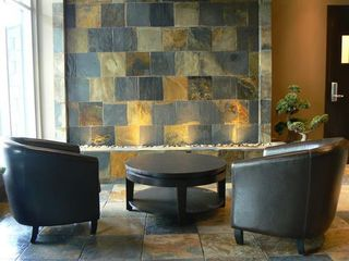 Canmore condo photo - Lobby Waterfall