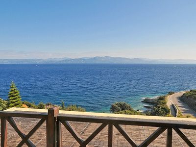 Paxi (Paxos) villa rental - Beautiful seaviews from the balconies