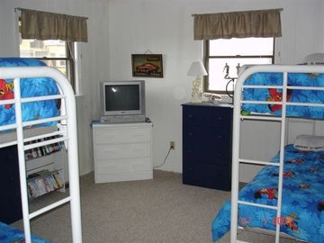 kids themed Bunk Room 2nd floor