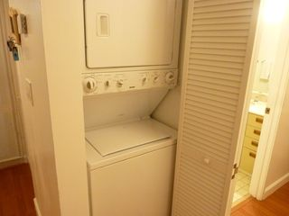 Key Biscayne apartment photo - washer and dryer in the unit for your convenience.