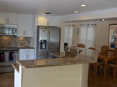 Expansive kitchen for special family gatherings...