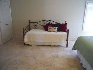 Gulf Shores property rental photo - daybed with trundle with king bed in master bedroom