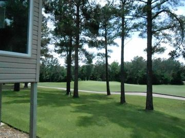 Hot Springs Village townhome rental - View of Isabella Golf course from home