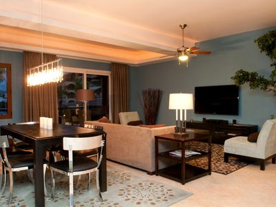 Cupecoy condo rental - Elegant formal dining to large 61