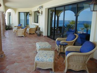 Los Cabos villa photo - Lower Veranda
