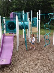 Tobyhanna house photo - Community Playground. Next to the pool and tennis courts!