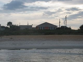 Flagler Beach house photo - View from the ocean looking up at Loney Dunes:)